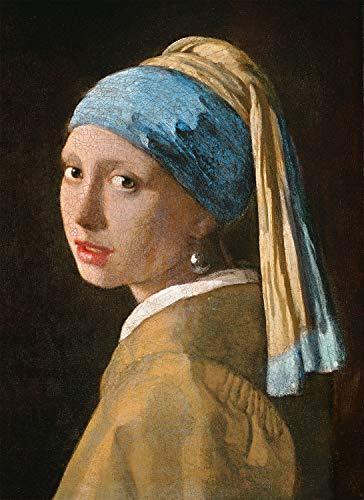 Clementoni Museum Collection Girl With Pearl Ev Adulti 1000 Pezzi Arte Puzzle Quadri Made In Italy Multicolore 39614 0 0