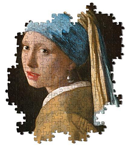 Clementoni Museum Collection Girl With Pearl Ev Adulti 1000 Pezzi Arte Puzzle Quadri Made In Italy Multicolore 39614 0 1