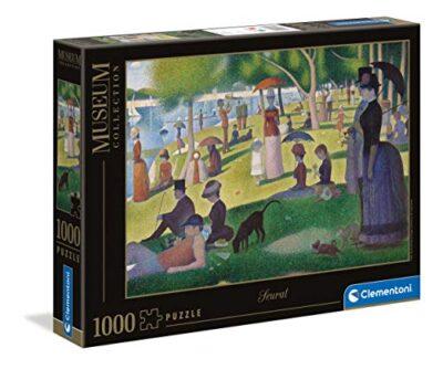 Clementoni Museum Collection Sunday On La Grande Js Adulti 1000 Pezzi Arte Puzzle Quadri Made In Italy Multicolore 39613 0