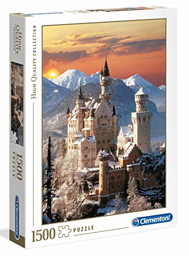 Clementoni Neuschwanstein High Quality Collection Puzzle 1500 Pezzi 31925 0