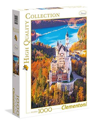 Clementoni Neuschwanstein Puzzle 100 Pezzi Multicolore 1000 39382 0