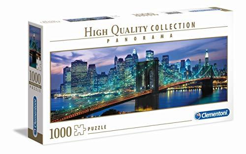 Clementoni New York Brooklyn Bridge Puzzle 100 Pezzi Multicolore 1000 39434 0