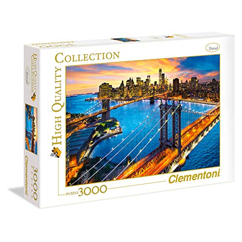 Clementoni New York High Quality Collection Puzzle 3000 Pezzi 33546 0