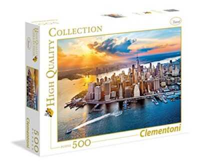 Clementoni New York High Quality Collection Puzzle Multicolore 500 Pezzi 35038 0