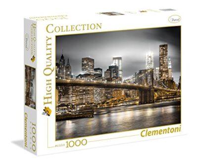 Clementoni New York Skyline Puzzle 100 Pezzi Multicolore 1000 39366 0