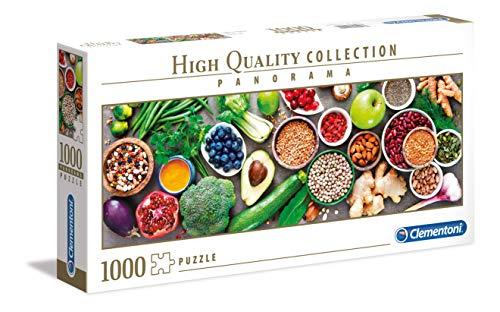 Clementoni Panorama Healthy Veggie Puzzle 1000 Pezzi Multicolore 39518 0