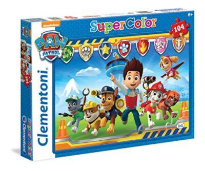 Clementoni Paw Patrol Supercolor Puzzle 104 Pezzi 27945 0