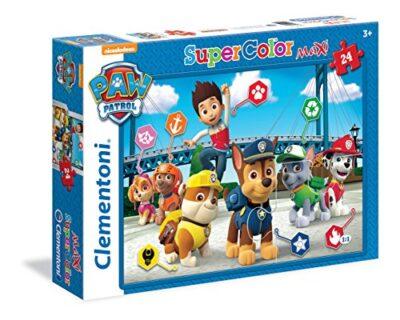 Clementoni Paw Patrol Supercolor Puzzle 24 Pezzi 24049 0