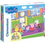 Clementoni Peppa Pig Puzzle Da Pavimento 40 Pezzi Multicolore 25458 0