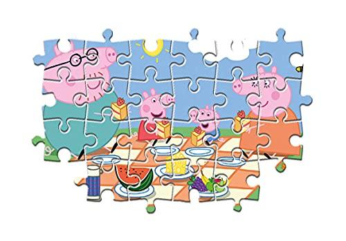 Clementoni Peppa Pig Supercolor Puzzle 24 Pezzi 24028 0 1