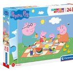 Clementoni Peppa Pig Supercolor Puzzle 24 Pezzi 24028 0
