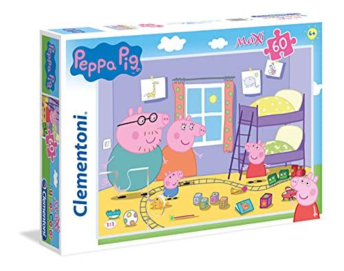 Clementoni Peppa Pig Supercolor Puzzle Maxi 60 Pezzi 26438 0