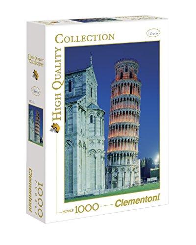 Clementoni Pisa Puzzle 1000 Pezzi Multicolore 31485 0
