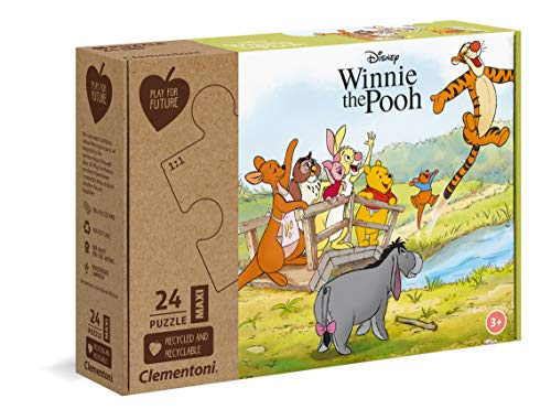 Clementoni Play For Future Disney Winnie The Pooh Puzzle 24 Pezzi Multicolore 20259 0