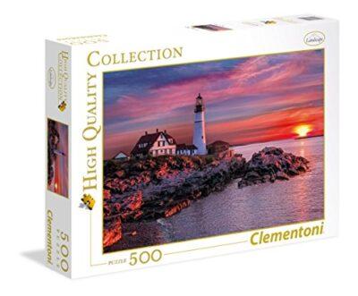 Clementoni Portland Head Light High Quality Collection Puzzle 500 Pezzi 35049 0