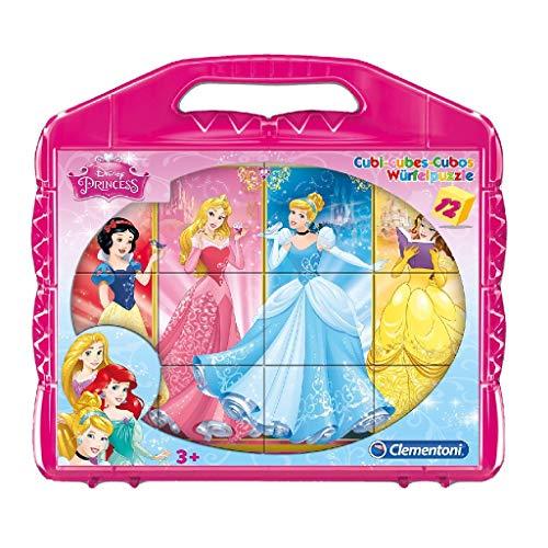 Clementoni Princess Puzzle Cubi 12 Pezzi 41181 0
