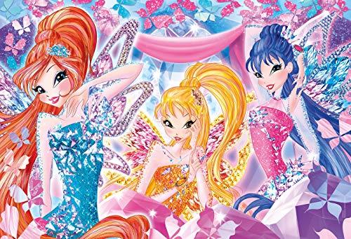 Clementoni Puzzle Winx 104 Maxi Pezzi Multicolore 23724 0 0