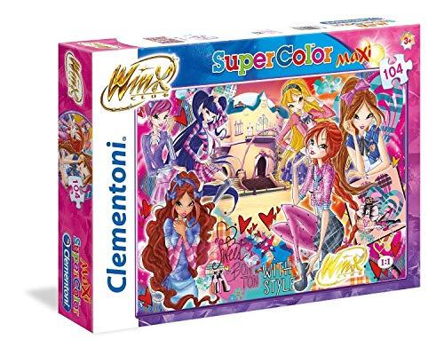Clementoni Puzzle Winx 104 Maxi Pezzi Multicolore 23724 0 1