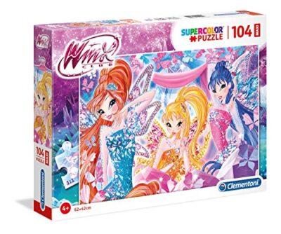 Clementoni Puzzle Winx 104 Maxi Pezzi Multicolore 23724 0
