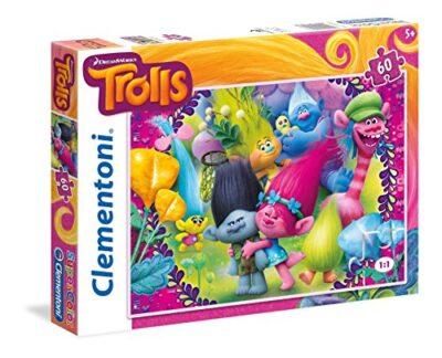Clementoni Pzl 60 Trolls Puzzle Multicolore Pezzi 26958 0