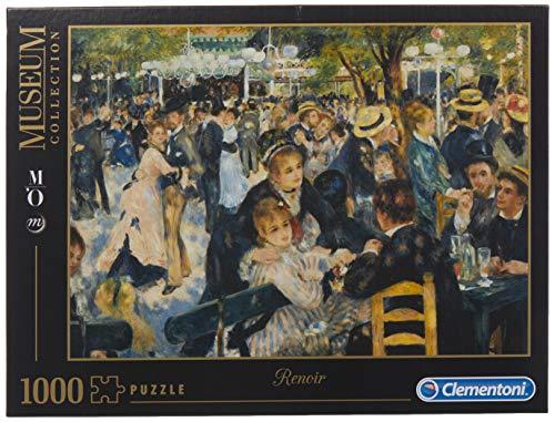 Clementoni Renoir Bal Du Moulin De La Galette Musee Dorsay Museum Collection Puzzle Colore Neutro 1000 Pezzi 31412 0