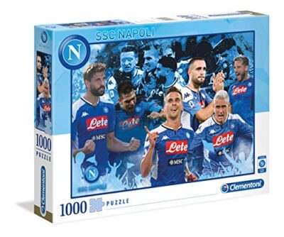 Clementoni Ssc Napoli Puzzle 1000 Pezzi Multicolore 39539 0