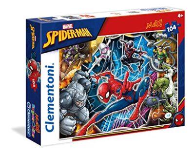 Clementoni Spiderman Supercolor Puzzle 104 Pezzi 23716 0