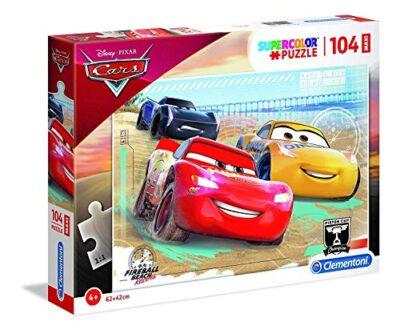 Clementoni Supercolor Puzzle Cars 104 Pezzi Maxi Multicolore 23727 0