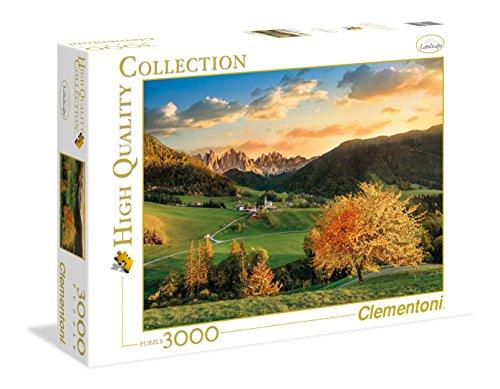 Clementoni The Alps High Quality Collection Puzzle Multicolore 3000 Pezzi 33545 0