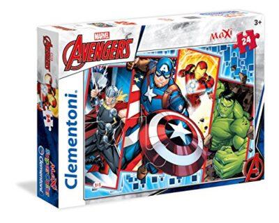 Clementoni The Avengers Supercolor Puzzle 24 Pezzi 24495 0