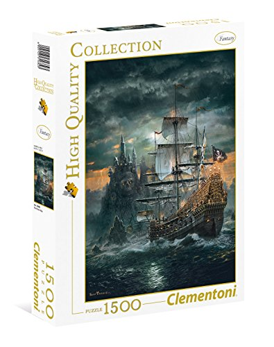 Clementoni The Pirate Ship High Quality Collection Puzzle 1500 Pezzi 31682 0