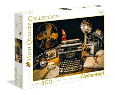 Clementoni The Typewriter High Quality Collection Puzzle Multicolore 500 Pezzi 35040 0