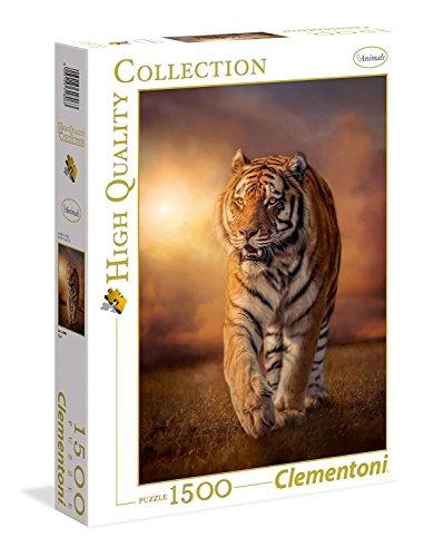Clementoni Tiger Collection Puzzle 1500 Pezzi 31806 0