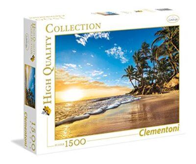 Clementoni Tropical Sunrise High Quality Collection Puzzle Multicolore 1500 Pezzi 31681 0