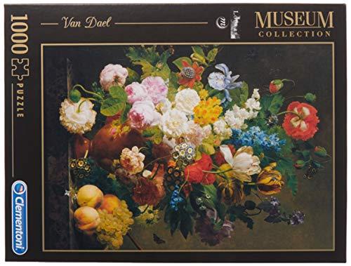 Clementoni Van Dael Vaso Di Fiori Louvre Museum Collection Puzzle 1000 Pezzi 31415 0