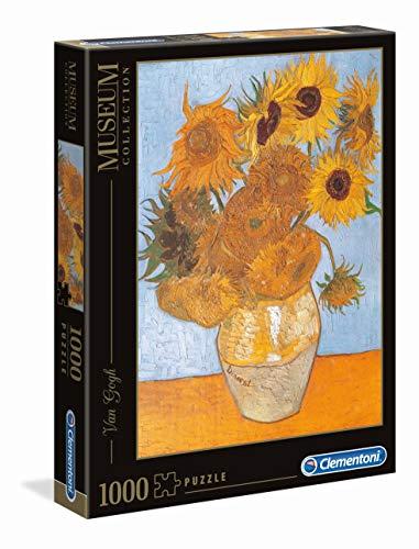 Clementoni Van Gogh Girasoli Museum Collection Puzzle 1000 Pezzi 31438 0
