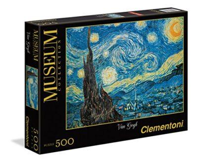 Clementoni Van Gogh Notte Stellata Museum Collection Puzzle 500 Pezzi 30314 0