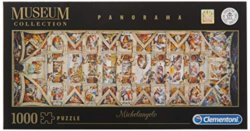 Clementoni Vatican Puzzle Volta Della Cappella Sistina Panorama 1000 Pezzi Multicolore 39498 0