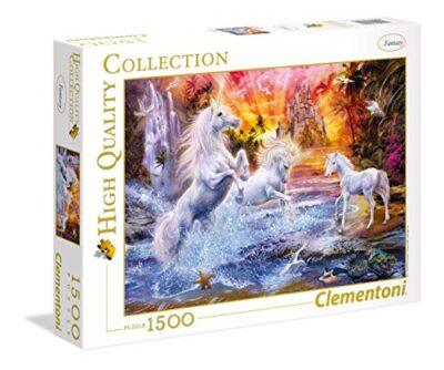 Clementoni Wild Unicorns High Quality Collection Puzzle 1500 Pezzi 31805 0
