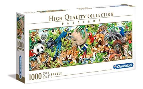 Clementoni Wildlife Puzzle Da 1000 Pezzi Multicolore 39517 0