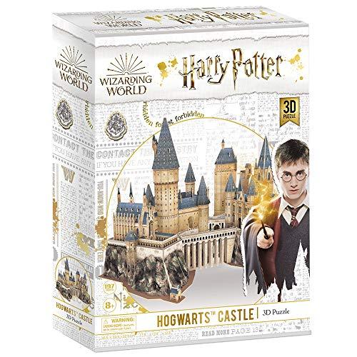 Cubicfun Puzzle 3d Harry Potter Hogwarts Castello Scuola Di Stregoneria E Magia Kit Di Modellismo Grande Architettura Modello Buon Regalo Per Adulti E Bambini 197 Pezzi 0