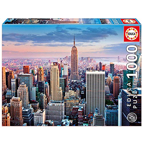 Educa 14811 Puzzles Hdr Midtown Manhattan New York Puzzle Per Adulti 1000 Pezzi Rif 0