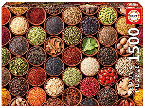 Educa 1500 Herbs And Spices Puzzle Colore Vario 17666 0