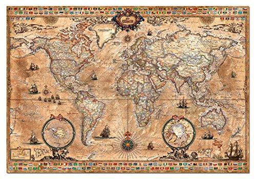 Educa 15159 Puzzles Mappa Antica Del Mondo Puzzle Per Adulti 1000 Pezzi Rif Colore Vario 0 0