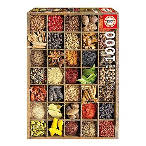 Educa 15524 Puzzles Spezie Puzzle Per Adulti 1000 Pezzi Rif Colore Various 0