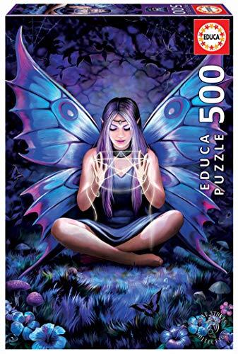 Educa 18998 Anne Stokes Tessitore Di Incantesimi Puzzle 500 Pezzi Rif Multicolore 0