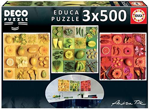Educa Andrea Tilk Puzzle Decorativo 18454 0