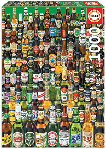 Educa Birre Puzzle Per Adulti 1000 Pezzi Rif 12736 Colore Various Eb12736 0