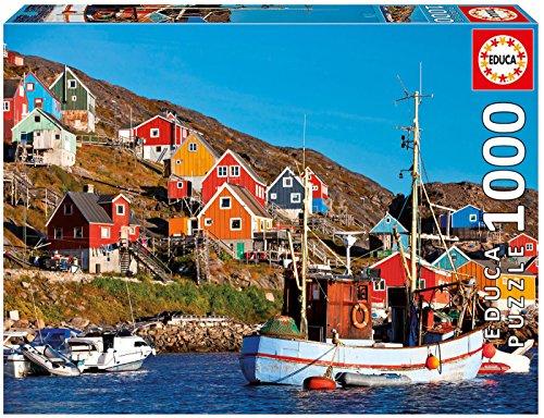 Educa Case Nordiche Puzzle Per Adulti 1000 Pezzi Rif 17745 Colore Vario 0
