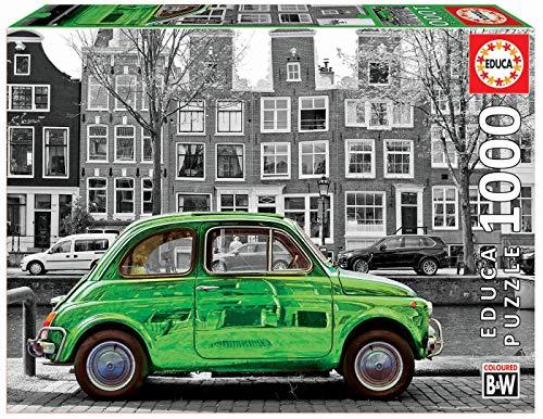 Educa Coche En Amsterdam Puzzle Colore Vario Sin Talla 18000 0